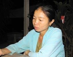 Long An: Một phụ nữ phát sáng