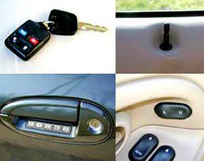 Những điểm mấu chốt của hệ thống khóa cửa xe