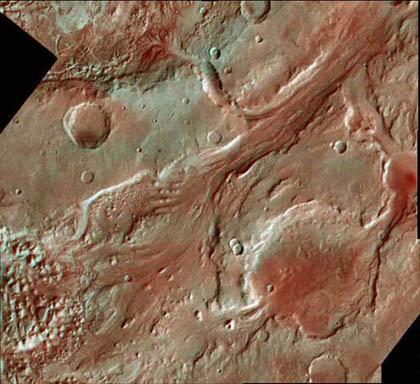 Các nhà nghiên cứu đã thành công trong việc tạo ra các tấm bản đồ địa hình sao Hỏa