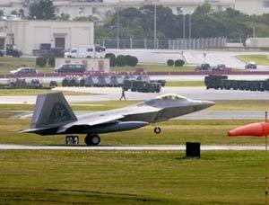 Mỹ đưa máy bay tàng hình đến Nhật