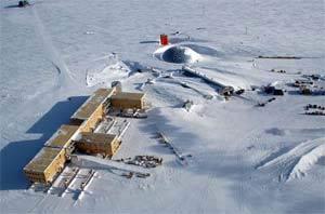Phát hiện những hồ nước khổng lồ nằm sâu dưới lớp băng ở Nam cực