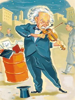Nếu Einstein chơi vĩ cầm tốt hơn