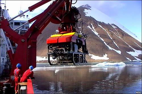 Khám phá đáy biển Nam Cực