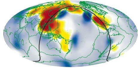 """Phát hiện một """"Đại Dương"""" rộng lớn bên trong trái đất"""