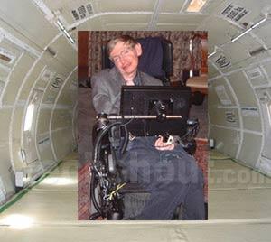 """Stephen Hawking sẽ """"nếm thử"""" không trọng lượng"""