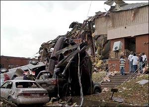 Bão gây thiệt hại tại miền Nam Hoa Kỳ