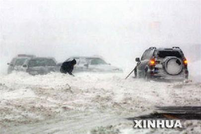 Trung Quốc: miền đông bắc tê liệt vì bão tuyết