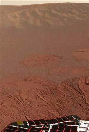 Bức ảnh khu vực Meridiani Planum trên sao Hỏa được chụp bởi robot Opportunity