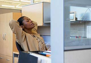Tìm cách thư giãn ở nơi làm việc