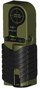 Kính radar cho phép nhìn xuyên tường dày đến 15 m.