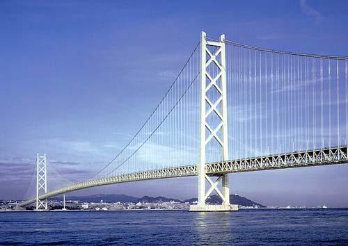 Cầu treo Akashi Kaikyo (Nhật Bản)