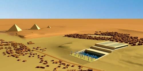 Ai Cập xây Kim tự tháp mới