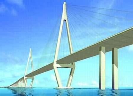 Cầu xuyên đại dương Vịnh Hàng Châu (Trung Quốc)