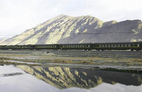 Khí hậu nóng lên, đe dọa đường sắt đến Tây Tạng