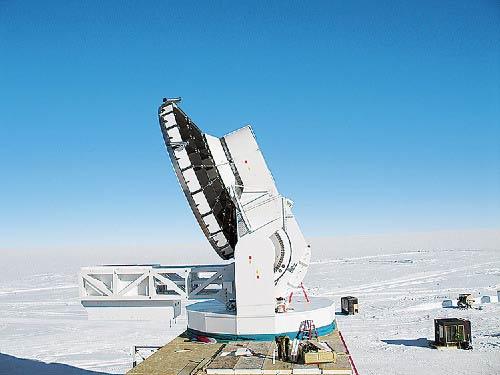 Quan sát bầu trời từ Nam cực