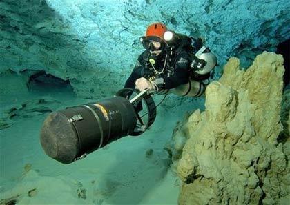 Mexico: Nghiên cứu hang ngầm dưới nước dài nhất thế giới