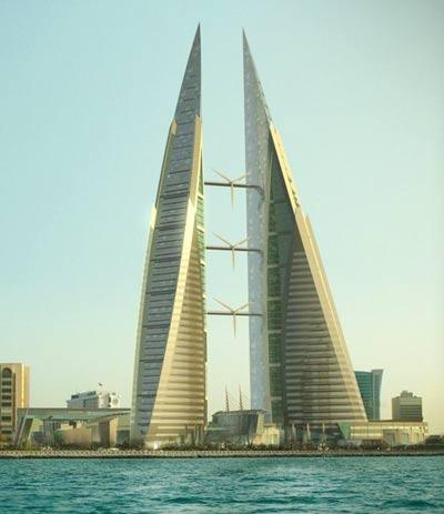 Bahrein: Xây dựng tòa tháp đôi Trung tâm Thương mại Thế giới