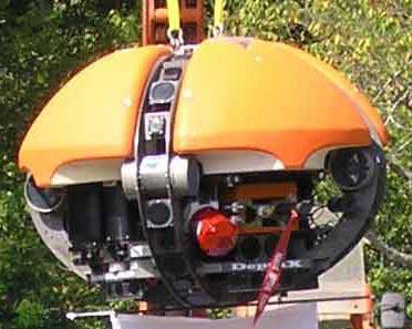 Robot thám hiểm các vùng sâu dưới đáy biển ngoài Trái Đất