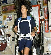 Chạy marathon trên vũ trụ cũng cực kỳ mệt mỏi