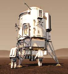 Mô phỏng hành trình lên sao Hỏa