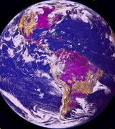 Trái đất ngày xưa có màu tím