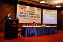 Hội thảo về bệnh viêm gan do rượu