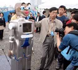 Phát triển công nghệ chế tạo người máy
