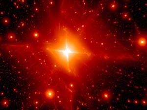 Tìm thấy hình vuông đỏ rực rỡ trong vũ trụ