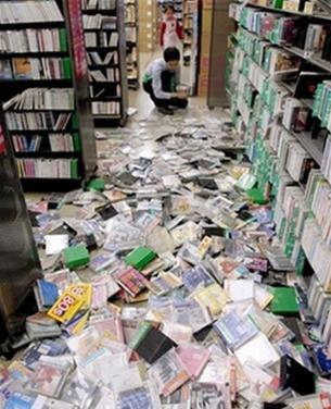 Động đất làm rung chuyển Nhật Bản