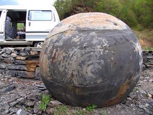 Trung Quốc phát hiện nhiều trứng đá khổng lồ