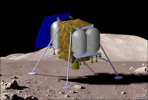 Anh thử nghiệm công nghệ đổ bộ lên Mặt Trăng