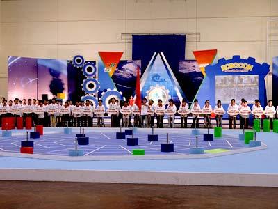 Robocon 2007: 300 đội bước vào vòng thi loại