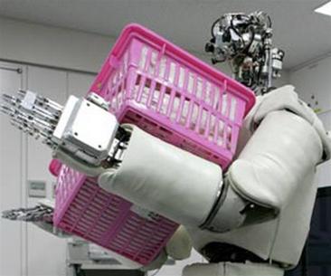 Robot giống người có thể nâng vật nặng 30 kg