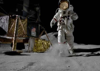 Bụi Mặt Trăng: Mối nguy hiểm đối với các nhà du hành vũ trụ