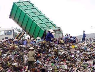 Hàng triệu USD xử lý bãi rác Khánh Sơn (Đà Nẵng)