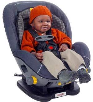 Những điều cần biết về ghế ngồi trẻ em trên ôtô