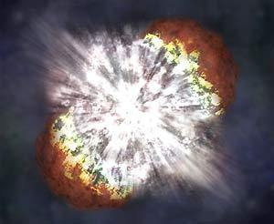 Vụ nổ sao dữ dội gây kinh ngạc giới thiên văn
