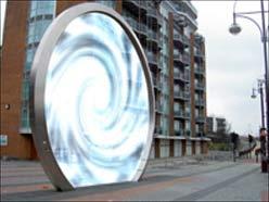 """Thiết kế đường hầm vô hình: Tạo ra """"lỗ sâu đục"""" điện từ bằng cách quay mặt trong của hình cầu ra ngoài"""
