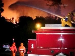 Los Angeles: Cháy lớn gần biểu tượng Hollywood