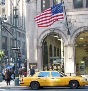 New York áp dụng công nghệ mới cho taxi