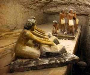 Cuộc sống Ai cập tái hiện trong ngôi mộ cổ