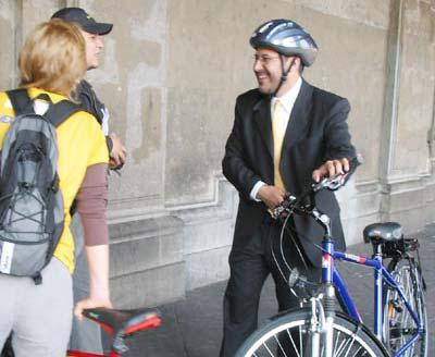 Mexico: phát động đi xe đạp để bảo vệ môi trường
