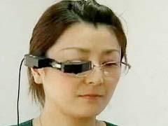 Nhật: Màn hình ti vi cho mắt kính