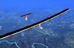 """Máy bay """"Solar Impulse"""" thực hiện chuyến bay mô phỏng đầu tiên"""