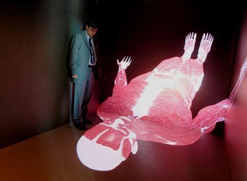 """Tạo ra hình ảnh """"4D"""" của cơ thể người"""