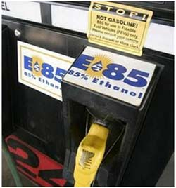 Mỹ đẩy mạnh sử dụng nhiên liệu ethanol