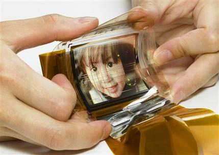 Sony phát triển thành công màn hình cực mỏng có thể uốn cong