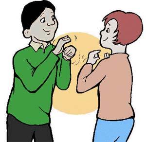 Lưu ý khi giao tiếp với người câm điếc