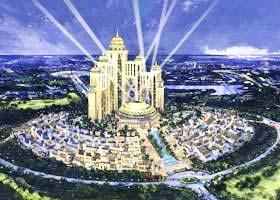 Dubailand: Khu giải trí lớn nhất thế giới giữa sa mạc