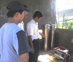 Máy phát điện chạy bằng khí biogas